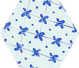 Плитка напольная Атем Hexagon Nika Mix BL 100х115