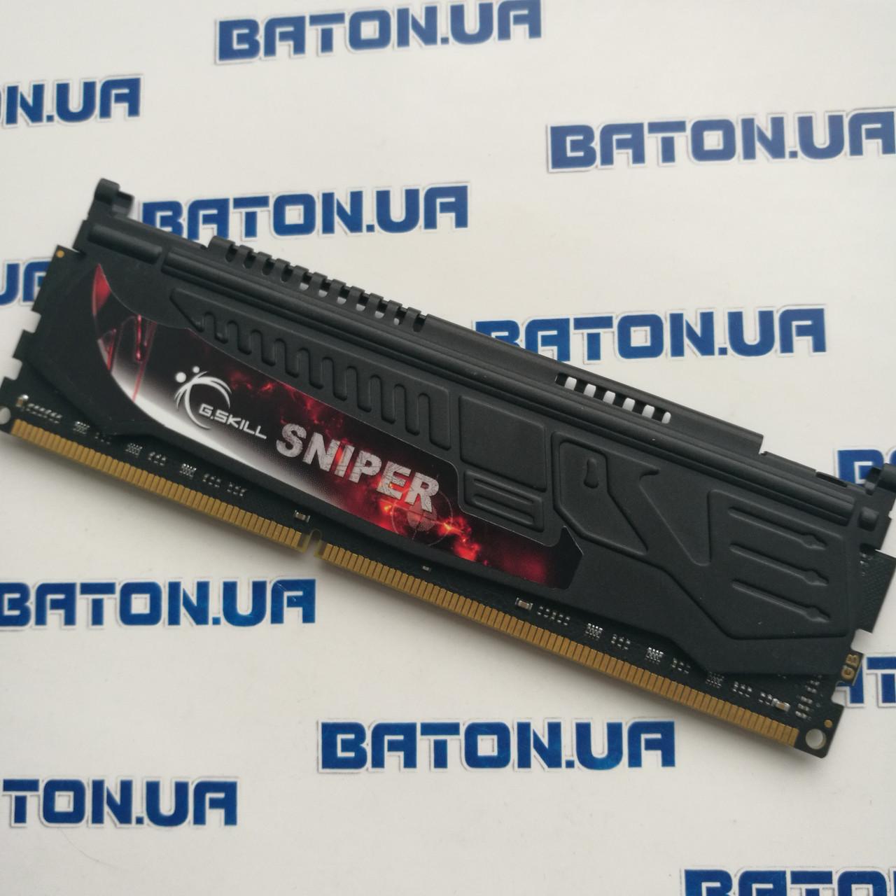 Игровая оперативная память G.Skill Sniper DDR3 4Gb 1333MHz PC3-10666U CL9 (F3-10666CL9D-8GBSR)
