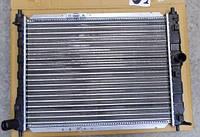 Радиатор охлаждения Дэу Ланос без кондиционера Luzar
