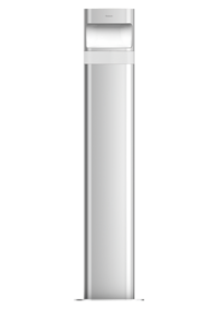 Theben theLeda D B plus S AL, th 1020907 - светильник с датчиком движения - с розеткой в грунт