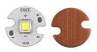 Светодиод Cree XM-L2 6000K на медной подложке 16mm, фото 1