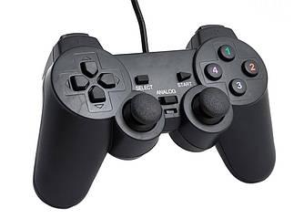 USB джойстик для ПК PC Dellta GamePad DualShock DJ-706 с вибро (25120)
