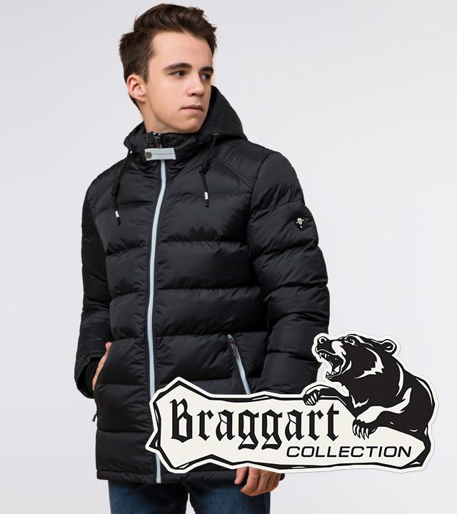 Подросток 13-17 лет   Зимняя куртка Braggart Teenager 75263 графит