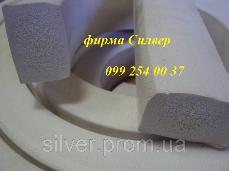 Профиль силиконовый пористый 20х35мм белый для вакуумных машин и установок