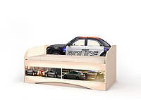 Детский диван Вальтер Полиция Венге светлый 70*140 (D-1.07.71)