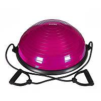Балансировочная платформа Power System Balance Ball Set PS-4023 Pink, фото 1