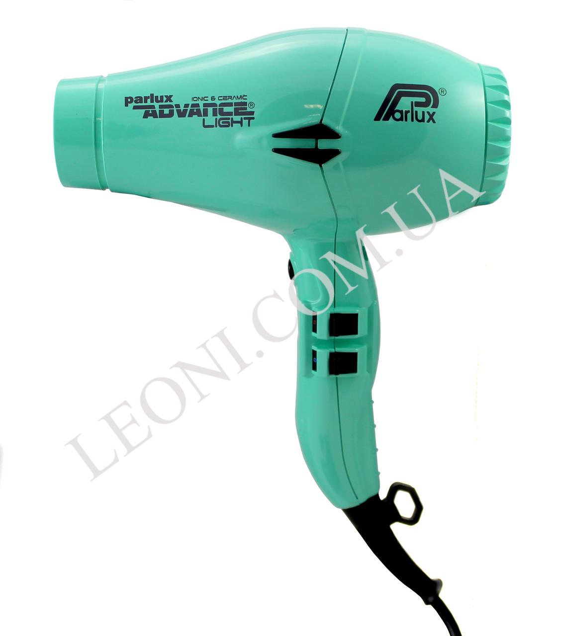 Профессиональный фен для волос 2200 w Parlux Advance Light бирюзового цвета