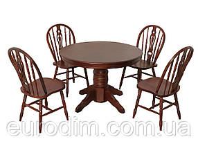 Стол обеденный CHDT-4260-SPB темная вишня, фото 3