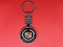 Брелок металлический для авто ключей Cadillac(Кадиллак)