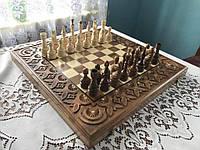 Шахи-нарди-шашки 50 см 50 см Королівські