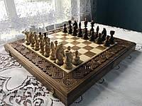 Шахи-нарди-шашки 50 см 50 см Королівські 2