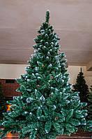 Искусственная елка сосна 2,2 м с серебристыми шишками новогодняя рождественская ель, фото 1