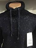 Теплый мужской свитер с шалевым воротником M,L,XL, фото 3