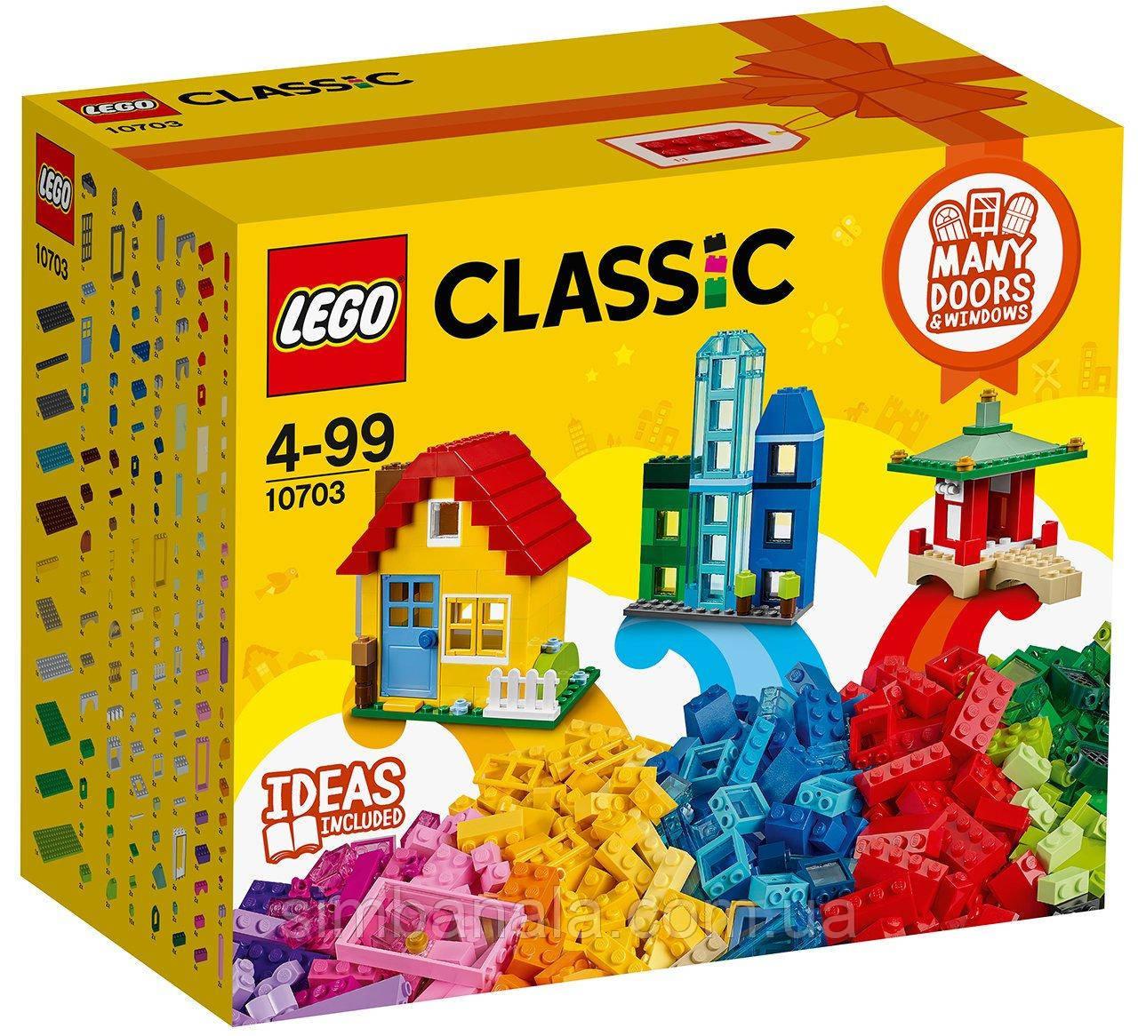 Конструкто LEGO Classic(10703) для творческого конструирования (502 детали)
