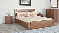 Кровать Кармен двуспальная с ортопедическими ламелями, фото 1
