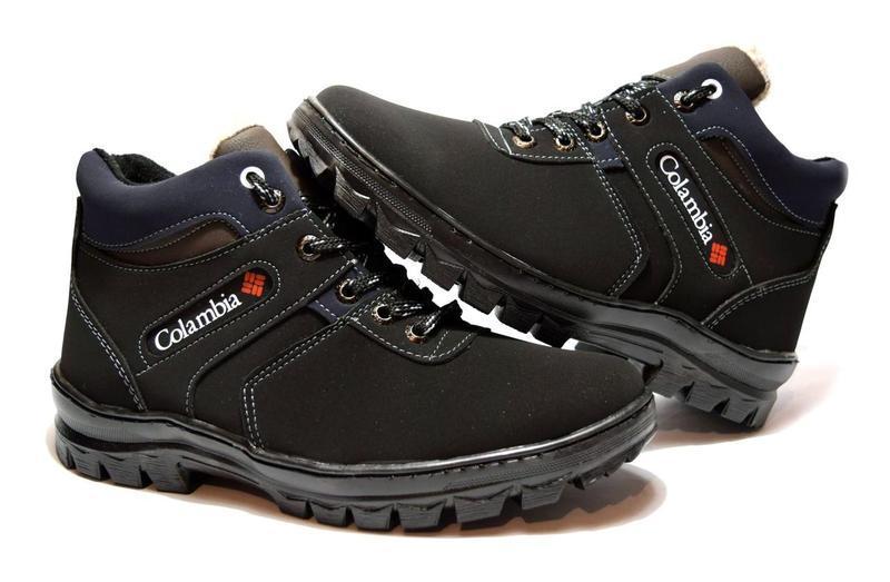 78b4e63372d2 ... Мужские зимние ботинки в стиле Columbia. Прошитые, с мехом., фото 3 ...