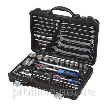 """Набір інструментів 1/2"""", 1/4"""", 88 предметів (S/L) // Forsage 4881-7 код. 9755, фото 2"""