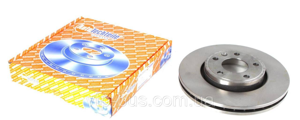 Тормозной диск передний на Renault Trafic / Opel Vivaro с 2001... AutoTechteile (Германия), 5040003