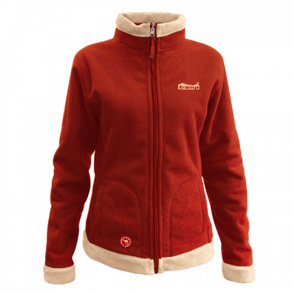 Женская куртка Tramp Бия Бежевый/Алый (TRWF-001), фото 2