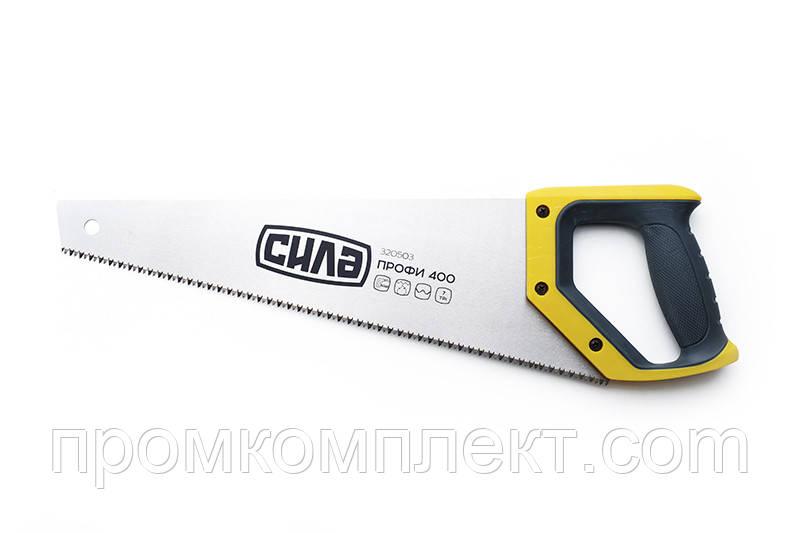 Ножовка по дереву 500мм с пластиковой 2-х компонентной рукояткой