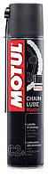 Смазка цепи Motul C2+ Chain Lube Road+ (400мл) Спрей