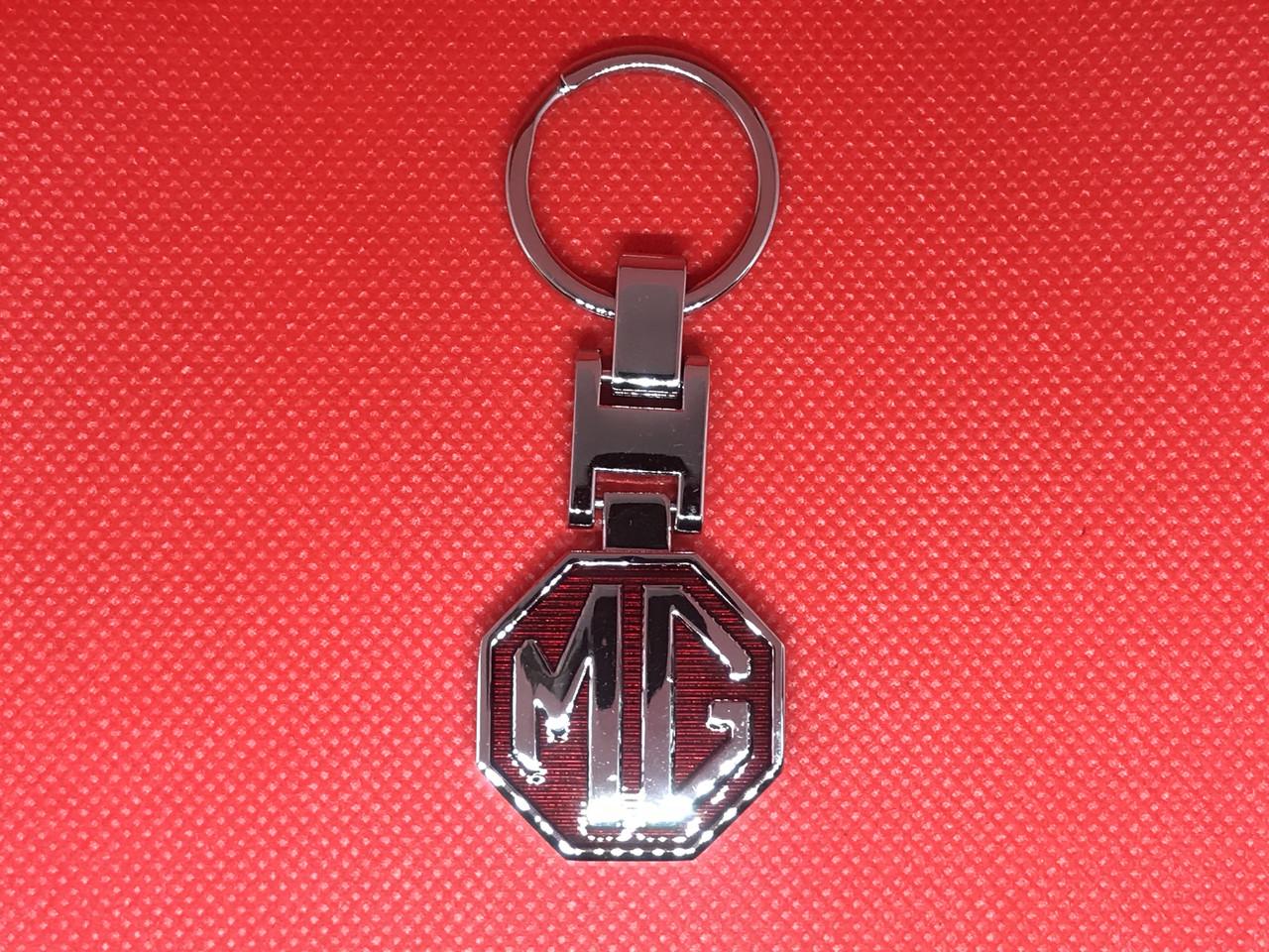 Брелок металлический для авто ключей MG (МГ)
