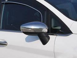 Накладки на зеркала (2 шт, пласт) - Ford B-Max 2012+ гг.