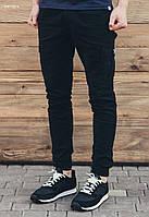 Мужские черные брюки карго Staff cargo Dark modern, фото 1