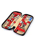 Набор маникюрный красный 04-8106-3, фото 1