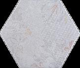 Плитка напольная Атем Hexagon R Poti Mix 346x400