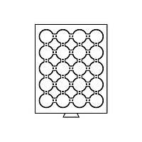 Бокс для монет (диаметр ячейки 47 мм) MBCAPS41