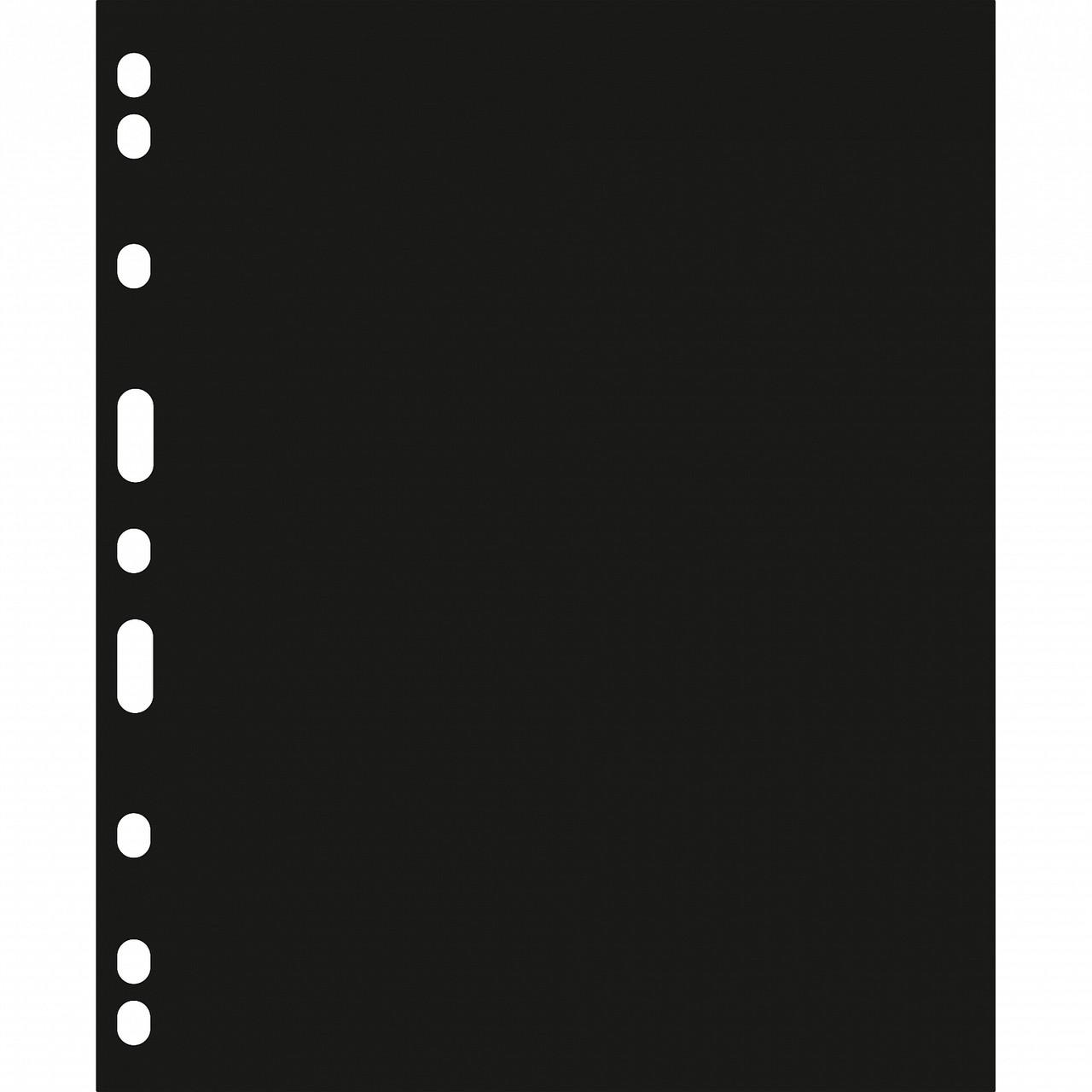 Прокладочный лист Leuchtturm, для листов - обложек ENCAP, черный