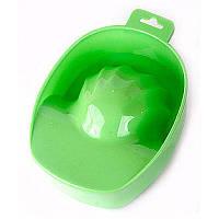 Ванночка для маникюра, зелёная