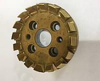 Головка зуборезная цельная для конических и гипоидных колес с круговыми зубьями 80мм №0 0,5