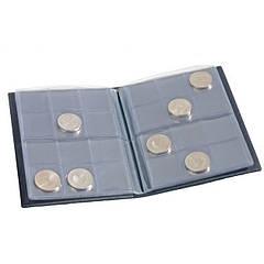 POCKETM2BL Альбом для монет до 33 мм на 96 монет