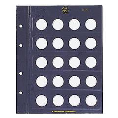 Лист к альбому Leuchtturm, VISTA для монет 2 евро