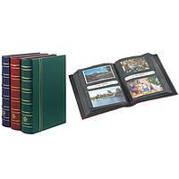 Альбом многоцелевой для 200 открыток,писем, конвертов, фотографий, зеленый