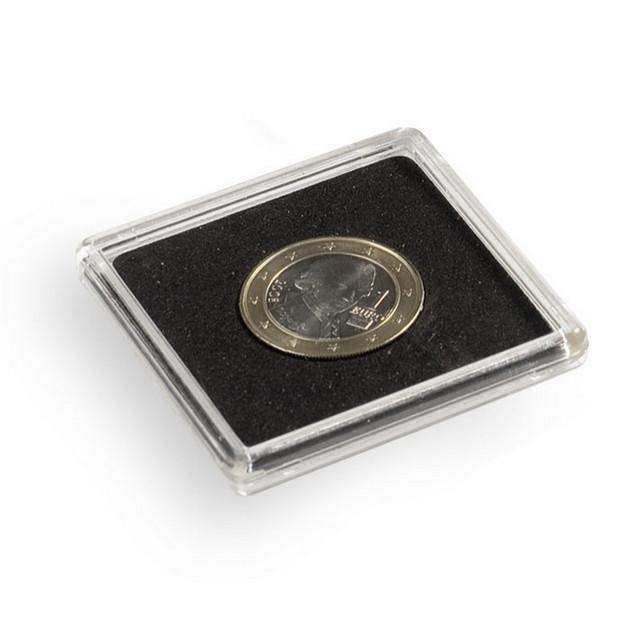 Капсула Leuchtturm квадратная QUADRUM для монет внутренний диаметр 20мм.