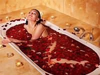 Лепестки роз  300 шт (красные, розовые, белые, сиреневые)