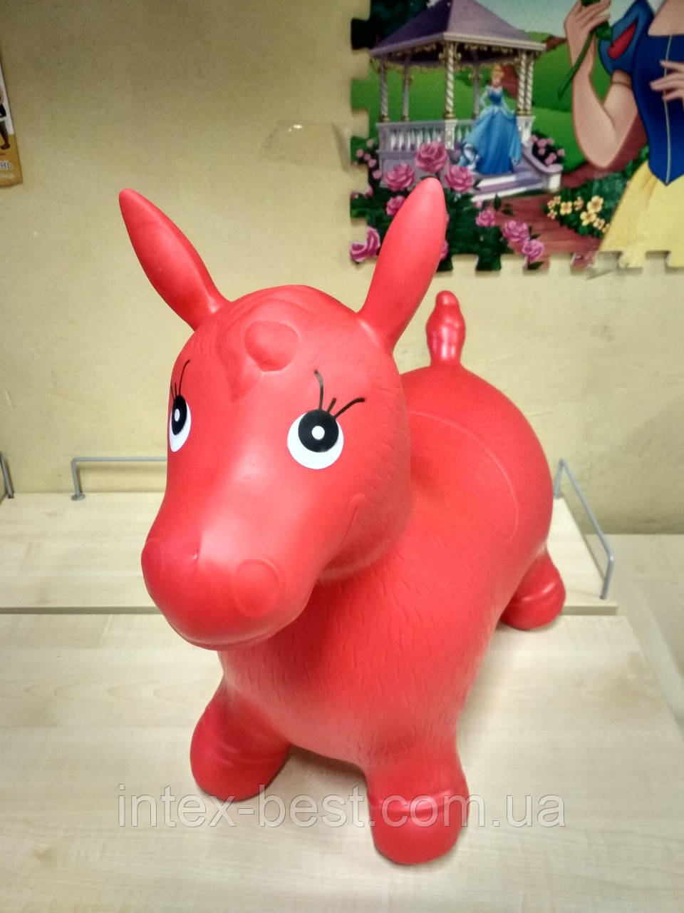 Прыгун-лошадка MS 0001 (Красный)