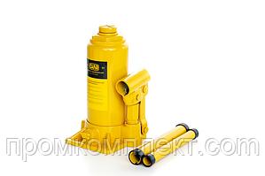Домкрат гідравлічний пляшковий стандарт 5т (197-382мм)