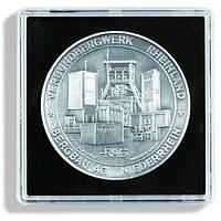 Капсула Leuchtturm квадратна QUADRUM для монет внутрішній діаметр 53мм.