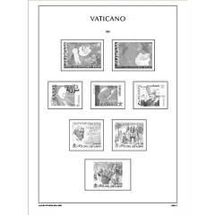 Листи Leuchtturm, ілюстровані для марок Ватикан 1852-1958 р. р.