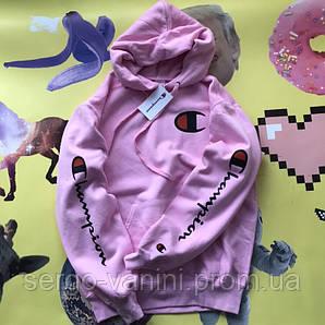 Худи Champion Pink • Люксовая реплика