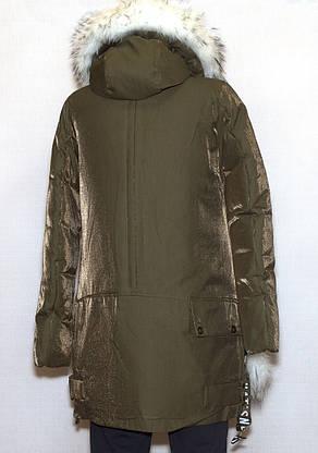 Куртка парка молодежная зимняя FINEBABYCAT 659 S,XL, фото 3