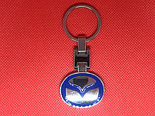 Брелок металлический для авто ключей Mazda (Мазда)