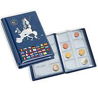 Альбом Leuchtturm для 12 EURO наборов по 8 монет - 96 шт.