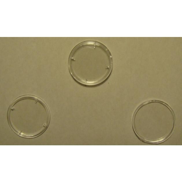 Капсулы 25 мм для золотых монет НБУ номиналом 50 грн.