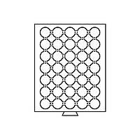 Бокс для монет (диаметр ячейки 34 мм), биметалл НБУ, 50 грн. НБУ золото MBCAPS28
