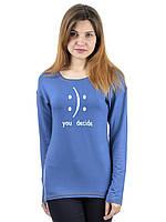Женский свитшот IRVIC 46 Синий IrC-S2053-46, КОД: 269303